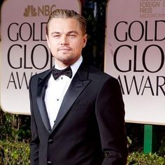 Leo at the 2014 Golden Globes
