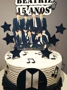 Bolo Do Naruto, Birthday Cake, Birthday Parties, Birthday Ideas, Bts Birthdays, Bts Merch, Hello Kitty, Creative, Idol