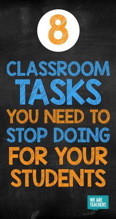 Instead of doing these classroom tasks for your students, encourage them to develop their skills to do it on their own instead! Classroom Job Chart, Classroom Jobs, Classroom Organization, Free Teaching Resources, Teaching Strategies, Teaching Tips, Creative Teaching, Teacher Resources, Classroom Management Strategies