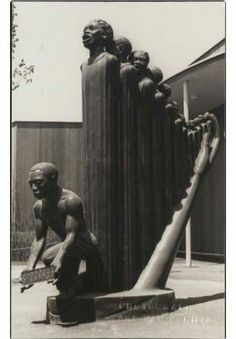 If the goal of Art is to move your soul, just take in this work by Harlem Renaissance sculptor Augusta Savage. It's people forming the shape of a harp.