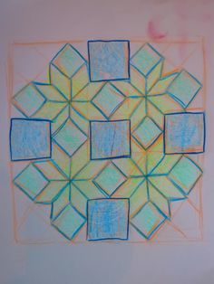 Waldorf ~ 5th grade ~ Freehand Geometry ~ main lesson book