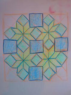 Waldorf ~ 5th grade ~ Freehand Geometry ~ main lesson book