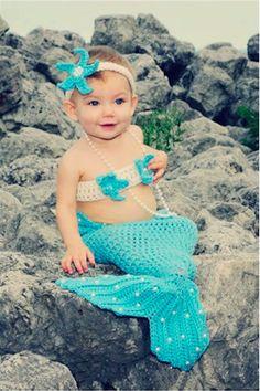 Baby Crochet Mermaid