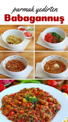 (Parmak Yedirten Lezzet, Videolu) – Nefis Yemek Ta… – Salata meze kanepe tarifleri – Las recetas más prácticas y fáciles Yummy Recipes, Easy Healthy Recipes, Healthy Dinner Recipes, Cooking Recipes, Yummy Food, Easy Salads, Easy Meals, Healthy Salads, Healthy Foods To Eat