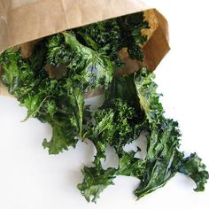Kale Chips  Don't knock these baked veggie snacks until you've tried them. They're surprisingly delicious! And the hefty dose of vitamin K helps repair and build muscles while you sleep. Simply chop up a bunch of kale, toss with olive oil and sea salt, and bake at 350 degrees until crispy.