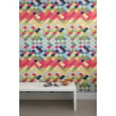 Another Wall Peel and Stick company - cool designs!  LOVE THIS ONE for J Bedroom Wall!  Blik Wall Decal - Fishwall ~ Pattern Wall Tiles #blikwalldecals