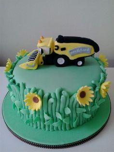 Cake tractor gteau tracteur New Holland Cake Gteau Chantaloo