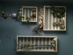 crates we just built after being inspired by a pin!
