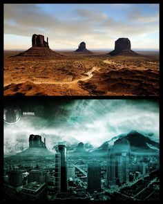 Matte Painting in photoshop - Google Search