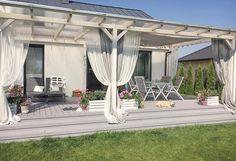 Pergola Ideas For Patio Key: 7253778887 Backyard Pergola, Patio Roof, Pergola Plans, Pergola Kits, Backyard Landscaping, Pergola Ideas, Deck Terrace Ideas, Outdoor Spaces, Outdoor Living