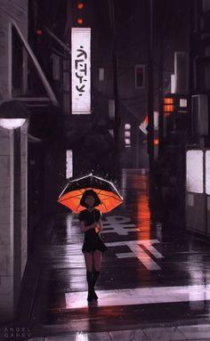 dephlo: 666 Positive Vibes Energy Self-Help And Personal. Art Anime, Anime Art Girl, Animes Wallpapers, Cute Wallpapers, Aesthetic Art, Aesthetic Anime, Aesthetic Drawing, Urbane Fotografie, Arte Peculiar