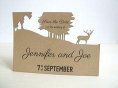 Oh Deer Wedding Save the Date - deposit