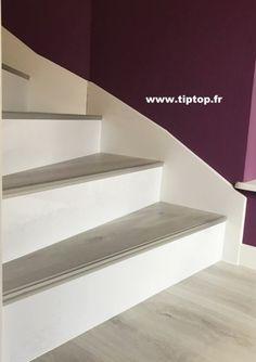 Relooking escalier intérieur béton 68 Haut Rhin