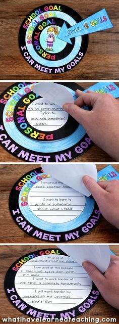 A goal setting craftivity that allows students to artfully express the goals that they set for themselves throughout the year. It comes with a variety of options and can be used at any time of the year.