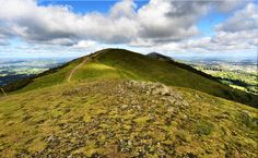 Along the range on the Malvern Hills, walkers see the expanse of the land surrounding
