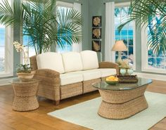 Cabana Banana 3 Section Sofa Set in Honey - Home Styles - 5401-61-SET-1 by Home Styles. $2392.00. This product is not recommended to be put outside where it will be exposed to the elements of rain, snow, or bad weather. It will be ok to place outside if you have a covered patio. If you need something that can be placed outside in the elements, please choose one of our many other items in our patio section. Includes: 1 x Cabana Banana 3 Section Sofa in Honey (5401-61) 1 x Cab...