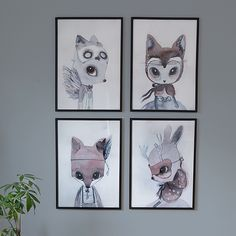 """""""We can't wait to hang these gorgeous @mrsmighetto prints on our wall. Available at @theposterclub for pre order."""""""