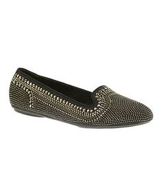 Loving this Gold Stud Flossie Chaste Flat on #zulily!    #hushpuppies!!! Cute!