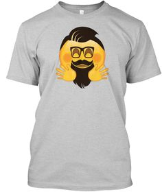 e501add2 Funny Emoji Hipster Face is a perfect tee shirt for everyday wearing! It  will make