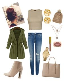 """Street Casual"" by ashseymour-beauty on Polyvore featuring M&S Collection, Ally Fashion, Charlotte Russe, MANGO, Chicnova Fashion, Susan Shaw and Lacoste"