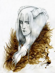 Norse Mythology Angrboda Angrboda, older sister of Farbauti. Second mate of Laufey and mother of Helblindi and Býleistr . Jotuheimr queen and Loki's aunt by ~Chibi-sempai on deviantart.com