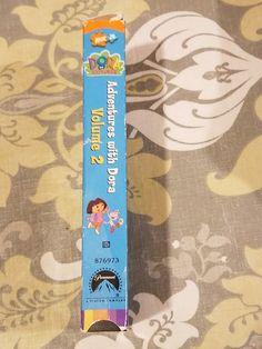 31 Best Dora The Explorer Adventures With Dora Volume 2 2002 Vhs