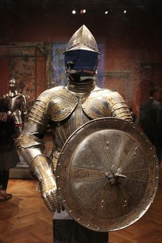 Half Armor and Targe for Service on Foot (c. 1600)