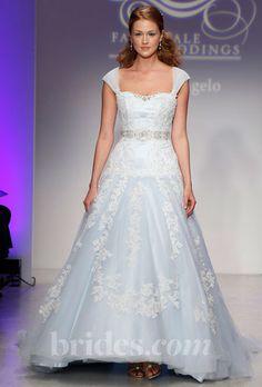 new alfred angelo disney wedding dress blue fall 2013