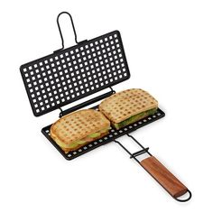 Gourmet Grilled Sandwich Basket $15. Uncommon Goods.