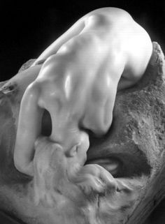 """Auguste Rodin ~ Danae """"Patience is also a form of action."""" Auguste Rodin, sculptor Every sculptor must know this.every stonemason, every artist, every creator. Thank you God for your great patience. Auguste Rodin, Musée Rodin, Pierre Auguste Renoir, Camille Claudel, French Sculptor, Modern Sculpture, Wassily Kandinsky, Les Oeuvres, Art History"""