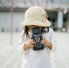 """smile""  - mini photographer"