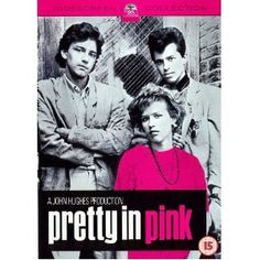 Pretty in Pink movie poster.