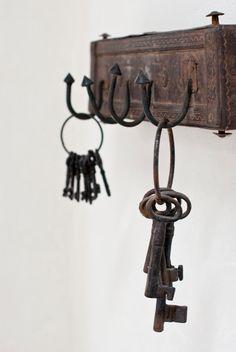 Weekend Escape: A Beautiful Villa On Ibiza Antique Keys, Vintage Keys, Ibiza, Old Keys, Interior Minimalista, Key Lock, Beautiful Villas, Spanish House, Key To My Heart
