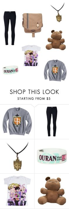 """""""Ouran High School Host Club"""" by booksarelife33 ❤ liked on Polyvore featuring Frame Denim and GE"""