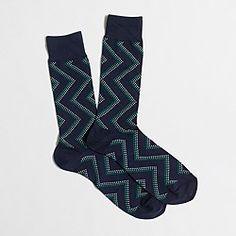 J. Crew - proper socks FACTORY GEOMETRIC DOT