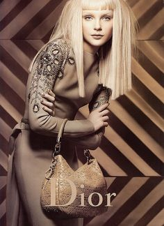 Jessica Stam for Dior  Repinned by www.fashion.net