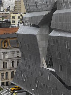 Morphosis Architects / Thom Mayne, Roland Halbe - www.rolandhalbe.de · The Cooper Union. New York · Divisare