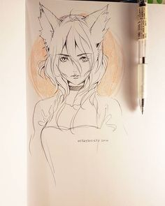 #inktober #sketch #sketchbook #anime #manga