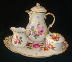 Lawendowy zagajnik- troszkę o.....: Porcelana Ohme Szczawienko ( Niedersalzbrunn)