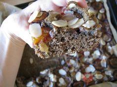 Celozrnný pohánkový koláč so slivkami- odzkoušeno je výborný