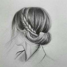 Amazing drawings, cute drawings, pencil drawings, amazing art, sketches of Amazing Drawings, Love Drawings, Amazing Art, Pencil Art Drawings, Art Drawings Sketches, Contour Drawing, Hair Sketch, Rides Front, Photoshop Images