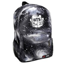 14.22$  Watch here - http://viooa.justgood.pw/vig/item.php?t=ld8tsr41101 - New Women Backpack Printing BTS School Bags For Teens Men's Waterproof Rucksack