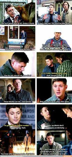 i love dean's logic