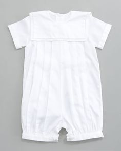 Carter Pleated Playsuit by Kissy Kissy at Bergdorf Goodman.