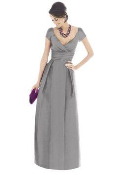 Alfred Sung D501 Bridesmaid Dress from Weddington Way (http://www.weddingtonway.com/products/alfred-sung-d501-bridesmaid-dress?sku=su-d501-quarry)