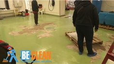 по полировке бетонного покрытия на заводе «Здравушка»