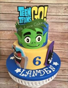 Are you gearing up for a Teen Titans Go birthday party or need tips on how to plan one? Calling all Teen Titans Go fans! From custom Teen Titans Birthday Gifts For Teens, 6th Birthday Parties, 10th Birthday, Birthday Ideas, Cupcake Birthday Cake, Cupcake Party, Cupcake Cakes, Teen Titans Go, Cute Cookies