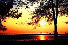 Sunrise @ Pasirpadi Beach Bangka Island, Indonesia