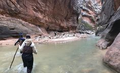 The Narrows in the Winter - Zion National Park