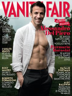 Del piero and his naked wife
